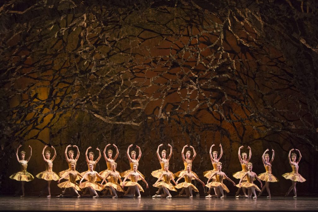 Artists of the Ballet in The Sleeping Beauty. Photo by Aleksandar Antonijevic.