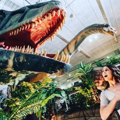 Walk with the Dinosaurs in DC at Jurassic Quest