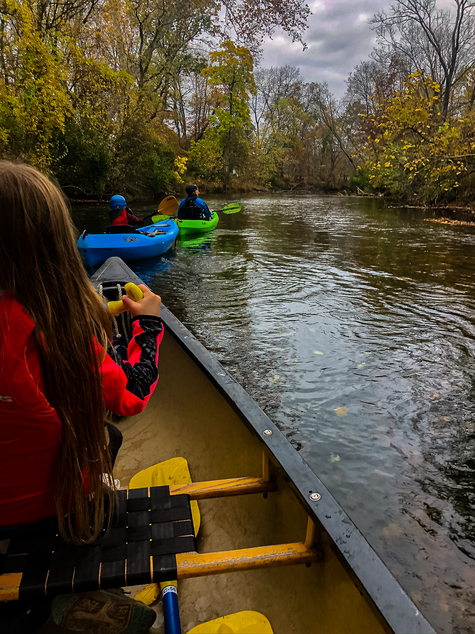 family canoe and kayak