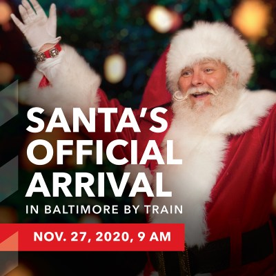 Santa's Official Arrival in Bmore