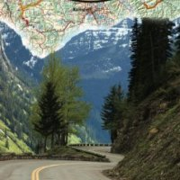 Montana Motorcycle Map - Printed motorcycle maps for riders by riders!