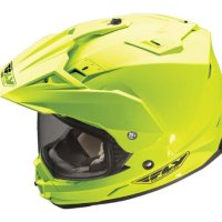 Fly Racing Trekker Adventure Touring/Dual-Sport Motorcycle Helmet - Hi-Viz Yellow, Medium Reviews