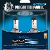 GE H7-55 NHS/BP2 Nighthawk Sport Replacement Bulb, (Pack of 2)