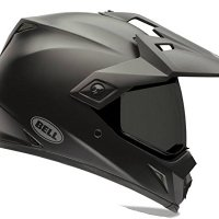 Bell MX-9 Adventure Solid Matte Black Off Road Motorcycle Helmet Size Small
