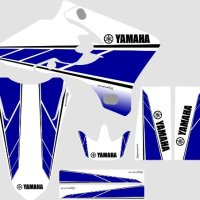 Yamaha WR450F WR250F Retro graphics kit