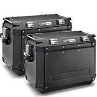 Givi OBK48BPACK2 Outback Black Cases 48 Liter Left + Right Side
