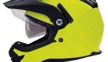 53b8654a BILT Techno Bluetooth Adventure Motorcycle Helmet – MD, White ...