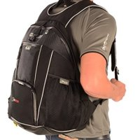 Oxford OL863 Black Lightweight Sports Motorcycle Backpack (X B25)