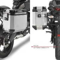Givi PL4103CAM Saddlebag Holder For Trekker Outback Cases - Kawasaki Versys 650