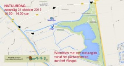 Natuurdag Geestmerambacht route naar Vlasgat