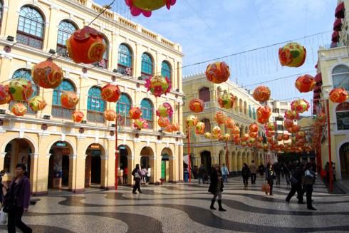 UNESCO World Heritage Macau, China