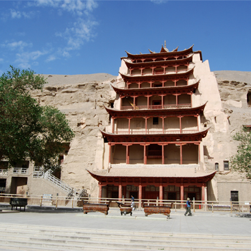 The crown jewel of Buddhist grottoes – the Mogao Caves