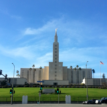 A Photographic Adventure to the Los Angeles Temple