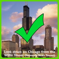 Willis Tower check