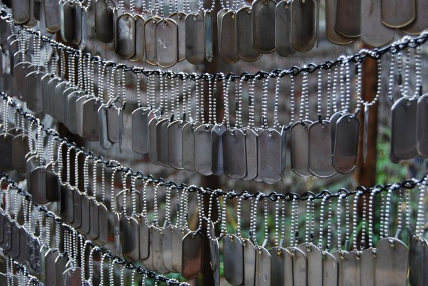 Dog Tag Memorial at Old North Church - Boston