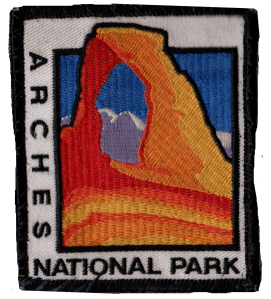 Arches National Park patch