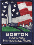 Boston National Historic Park patch