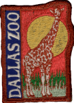 Dallas Zoo patch