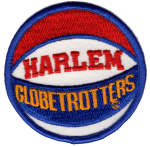 Harlem Globetrotters patch