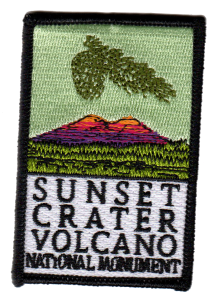 Sunset Crater Volcano National Monument patch