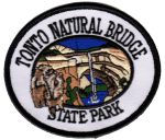 Tonto Natural Bridge State Park patch