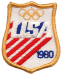 Team USA 1980 Olympic patch