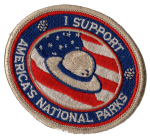 Support National Parks patch