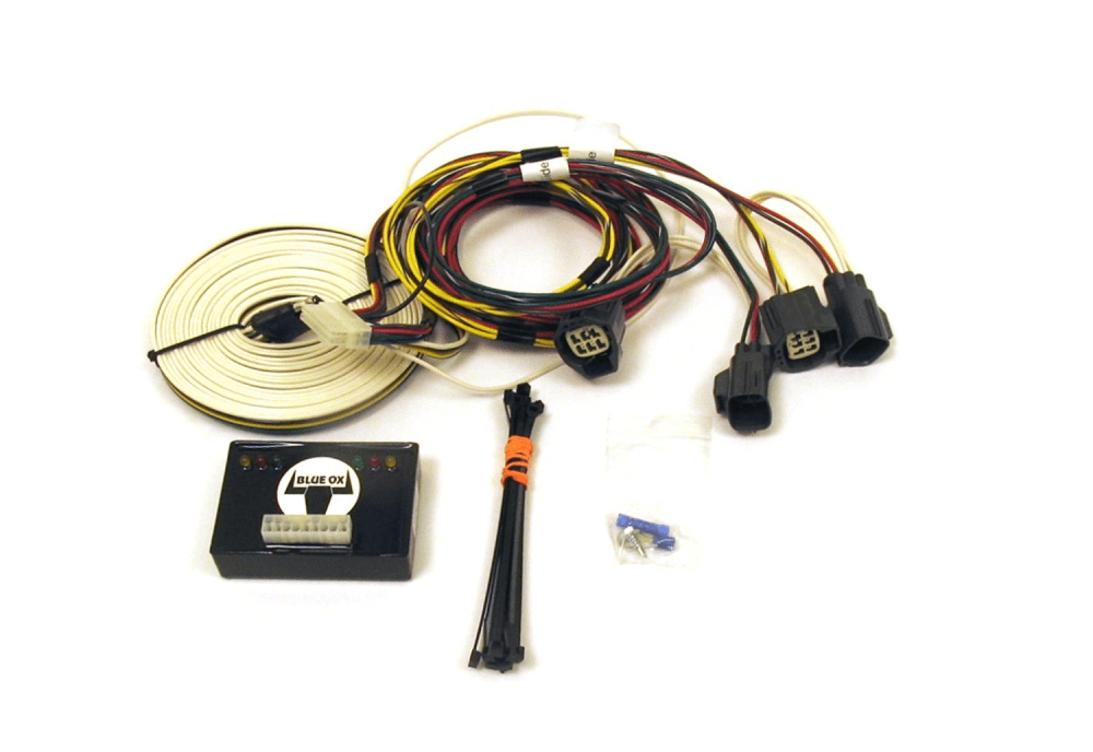 medium resolution of blue ox ez light wiring harness kit for jeep rubicon wrangler bx88285