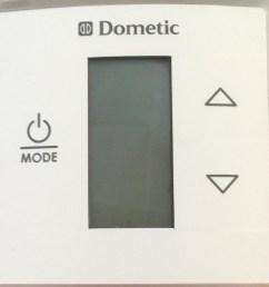 dometic single zone lcd control kit w thermostat white 3313189 000 [ 1169 x 1223 Pixel ]