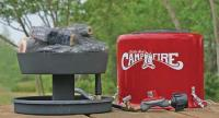 Camco Little Red Portable Campfire Fire Pit LP Propane | eBay