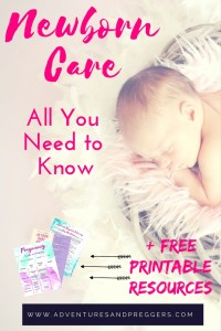Newborn Care Guide- Everything you need to know about newborn care when baby comes home. Infant care is not as scary as it seems. Brush up of your baby care knowledge with this quick guide. BONUS CONTENT- Free access to Motherhood resources including the Ultimate Hospital Delivery Bag Checklist. GET yours NOW!