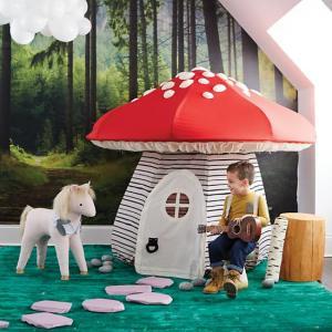 Toadstool/Mushroom Play Tent Fort