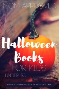 Mom Approved Halloween Books for Kids Under $3 Pin for later!