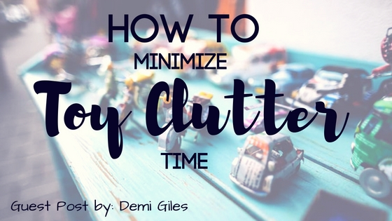 how to minimize toy clutter time