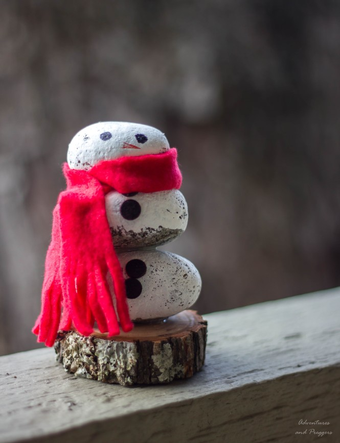 snowman winter craft idea