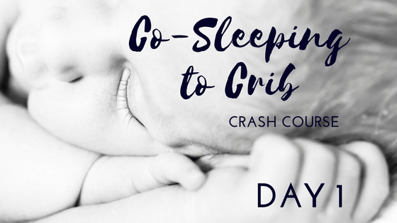 co-sleeping to crib crash course dani adams barry