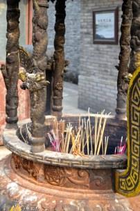 China temple Ningbo