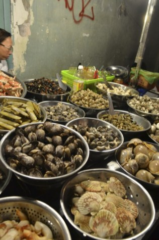 Vietnam street seafood