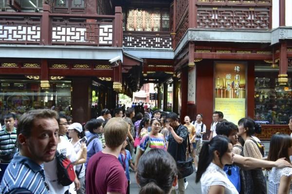 Shanghai crowded