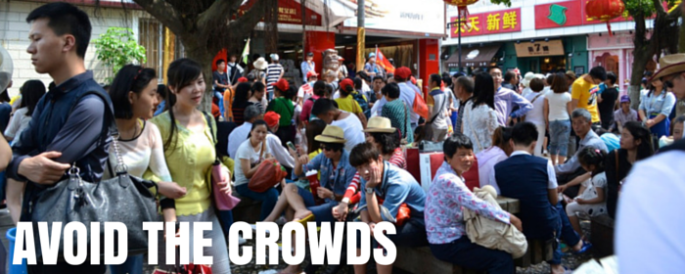 How to Avoid the Crowds in China