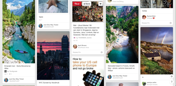 How to use Pinterest for Travel Planning