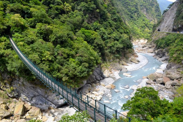 Hiking the Taroko Gorge