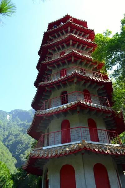 Taroko Gorge pagoda