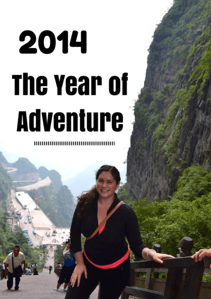 2014 the Year of Adventure