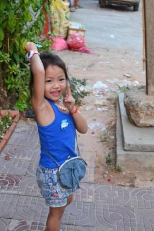 little Cambodian girl