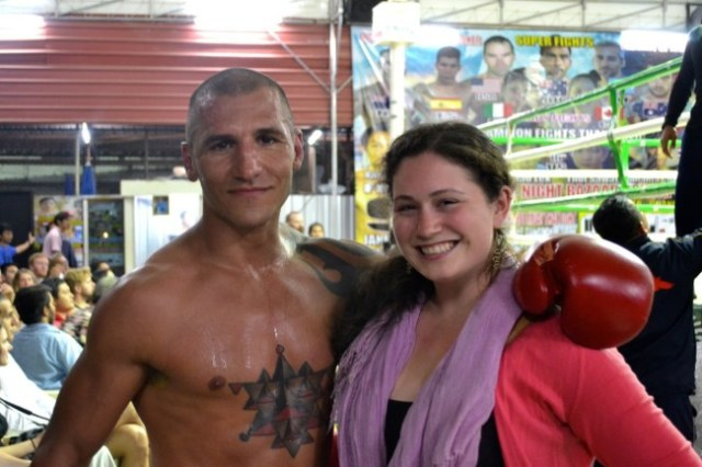 Muy Thai fighter Thailand