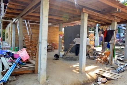 Koh Rong construction