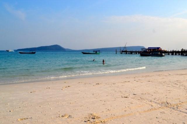 Koh Rong beach