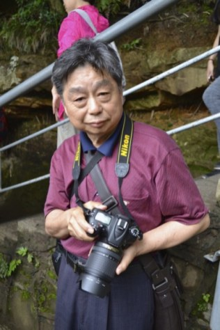 Chinese person DSLR