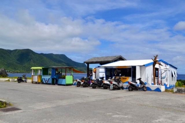 souvenir stalls Lanyu Orchid Island